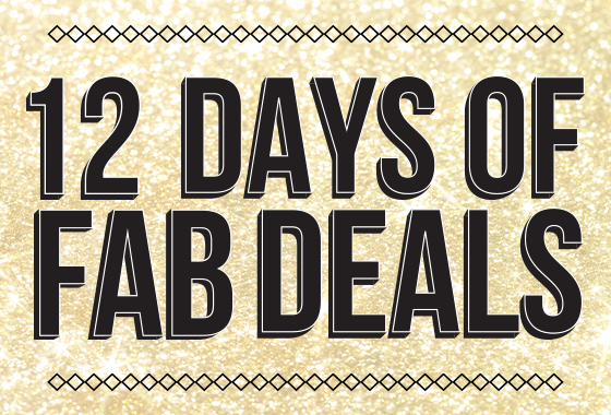 12 Days Of Fab Deals - 2020