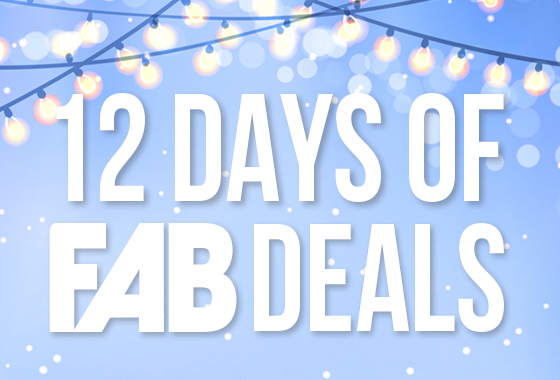 12 Days of FAB Deals!!