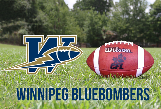 Winnipeg Blue Bombers Cheer Team 2018