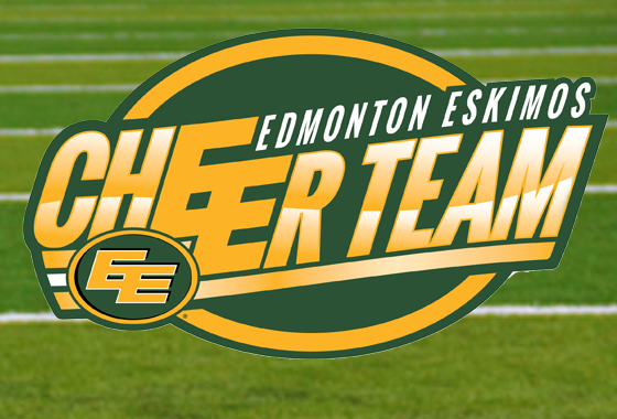 Edmonton Eskimos Cheer Team 2018