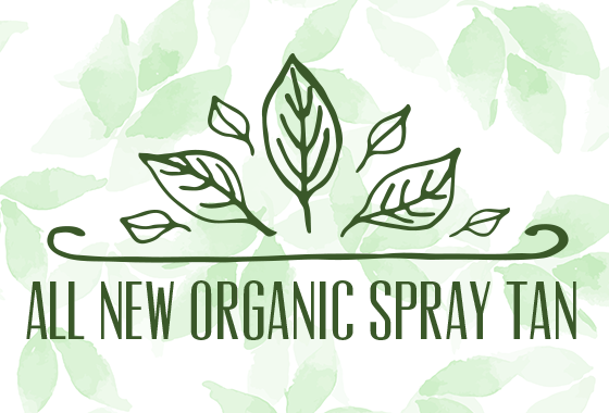 New Organic Spray Tans