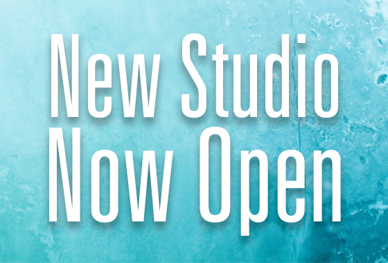 New Studio Now Open!