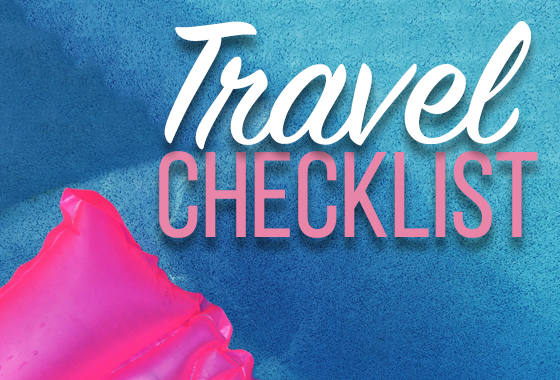 Packing Checklist 2018